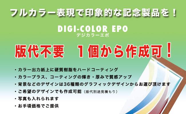 デジカラーエポ製表彰記念楯の取扱い店 有限会社ダイワ徽章